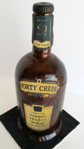 40 Creek Whiskey Bottle